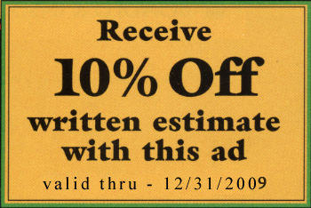 10% off estimate